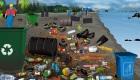 Sauve la plage et protège l'environnement