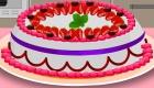 Cuisiner un gâteau à la fraise