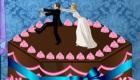Décorer un gâteau de mariage