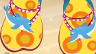 Jeu de chaussures de styliste