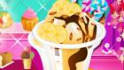 Prépare une crème glacée maison