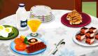 Jeu de petit-déjeuner pour filles