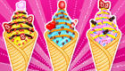 Crème glacée en cornet