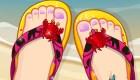 Décoration de chaussures pour filles
