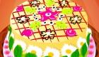 Cuisine un gâteau à fleurs