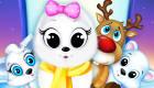 Les animaux du Pôle Nord au salon de beauté
