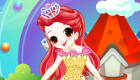 Habille la princesse Rose