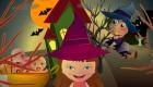 Jeu de bébé à Halloween