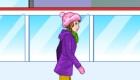 Jeu de patinage sur glace