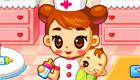 L'infirmière pour bébés de Jeux2fille