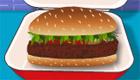Cuisine des hamburgers rapidement