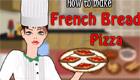 Une pizza à la française