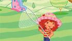 Charlotte aux fraises et les papillons