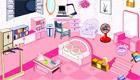 Une chambre de fille toute rose