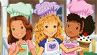 Les filles cuisinent des muffins