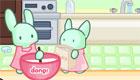 jeux de patisserie avec les lapins