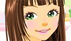 Maquillage et habillage complet d'une fille