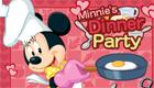 Minnie, une fille en cuisine