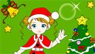 Prépare des cartes de Noël