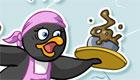 Serveuse de pingouins