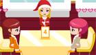 Serveuse de Noël