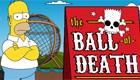 Homer dans la boule de la mort