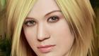 Maquiller Kelly Clarkson pour un concert