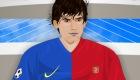 Jeu de Lionel Messi
