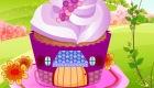 Décoration d'une maison cupcake