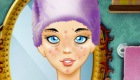 Jeu de maquillage d'hiver