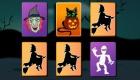 Jeu de paire d'Halloween