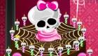 Le gâteau d'Halloween des Monster High