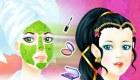 Princesse avant après maquillage