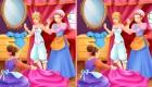 Jeu de différences avec une princesse