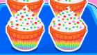Les gâteaux multicolores de Snoopy