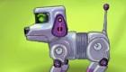 Jeu de chien robot