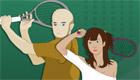 Jeu de squash pour filles