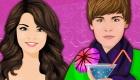 Jeu d'amour entre Justin Biebier et Selena Gomez