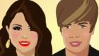 Bisous entre Selena et Justin