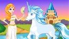 Jeu de licorne et de princesse