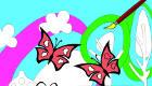 Colorier des papillons