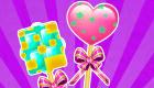 Jeu de décoration de bonbons