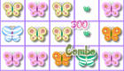 Jeu de candy crush papillons