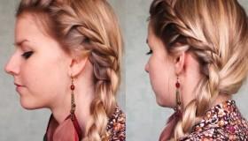 Se coiffer pour l'école: une tresse facile et rapide!
