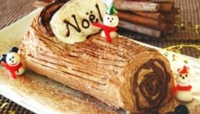Bûche de Noël facile