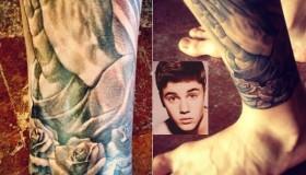 Le nouveau tatouage de Justin Bieber