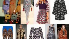 Les motifs à la mode pour l'hiver