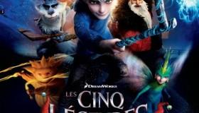Les Cinq Légendes au cinéma