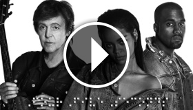 Rihanna ft. Kanye West and Paul McCartney - FourFiveSeconds