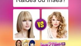Quelle est la meilleure coupe: cheveux frisés ou raides?